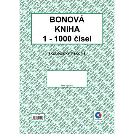 Bonová kniha A4