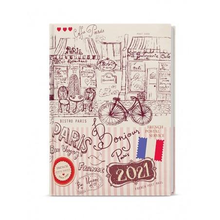 Denní diář - Adam - lamino - B6 - Paříž