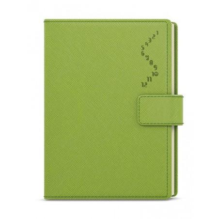 Denní diář - Ctirad - s výsekem - manager color - A5 - zelená