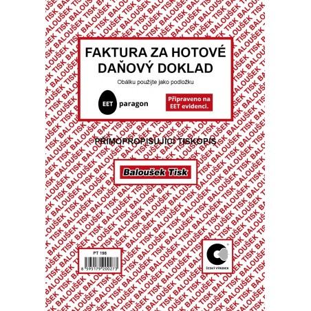 Faktura za hotové-daňový dok.A5 - EET