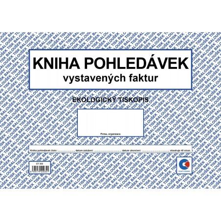 Kniha pohledávek A4 /kn. vys. fa.ob./