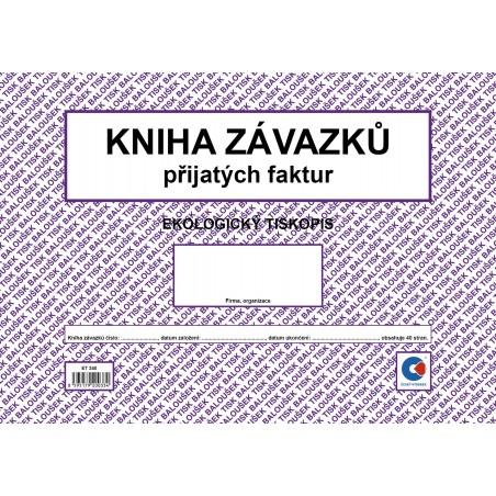 Kniha závazků A4 /k. došlých fak. ob./