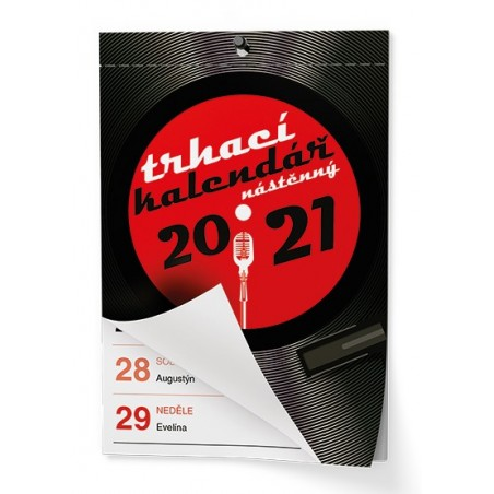 Nástěnný kalendář - Senior  I. - A6