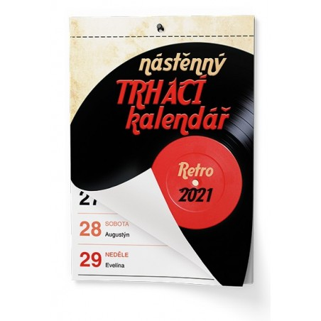 Nástěnný kalendář - Senior  II. - A5