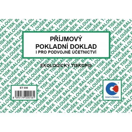 Příjmový pok.dok. i pro pod.úč. A6