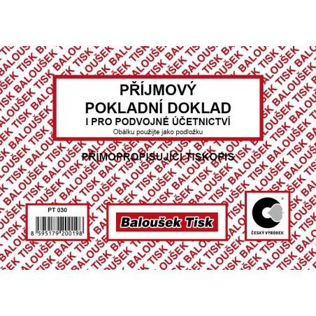 Příjmový pok.dok. i pro podvoj.účet A6