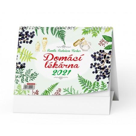 Stolní kalendář - Domácí lékárna (Renaty Raduševy Herber)