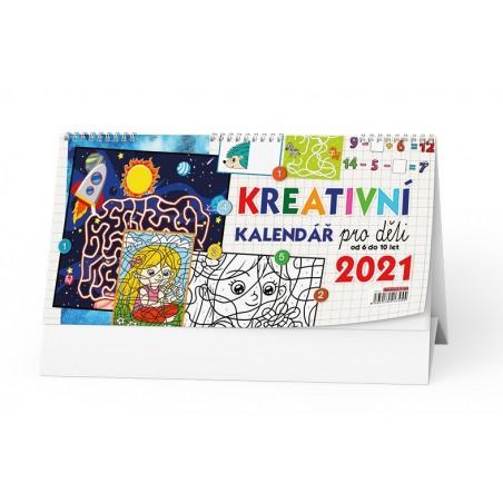 Stolní kalendář - Kreativní kalendář pro děti