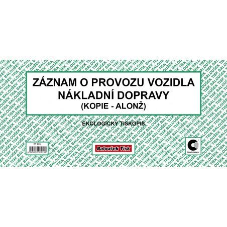 Záz.o prov.voz.nák.dop 2/3 A4-alonž