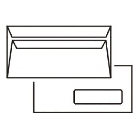 Obálka DL samolepící s okénkem