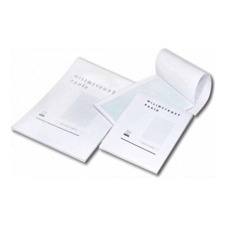 Blok A4 milimetrový papír